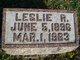 Leslie R. Arnold