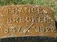 Profile photo:  Frances <I>Aumiller</I> Brecker
