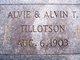 Alvia & Alvin T. Tillotson
