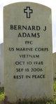 Profile photo:  Bernard Jeffrey Adams