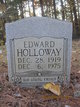 Profile photo:  Edward Holloway