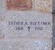 Esther Buettner