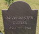 Ruth Dexter <I>Grew</I> Cutter