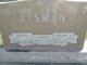Profile photo:  Anna Martha <I>Kizer</I> Alsman