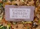 Profile photo:  Elizabeth <I>Alden</I> Davison