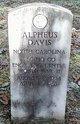 Profile photo: PFC Alpheus Davis