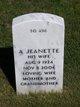 Profile photo:  A Jeanette Hendershott