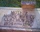 """Amanda Eliot """"Mandy"""" <I>Hammonds</I> Howton"""