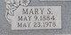 Profile photo:  Mary S. <I>Williams</I> Bagby