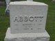"""Profile photo:  Herbert C """"Bert"""" Abbott"""