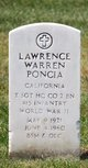 Lawrence Warren Poncia