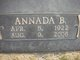 Profile photo:  Annada <I>Brownfield</I> Westerman