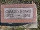 Profile photo:  Charles B. Davis
