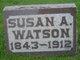 "Suzanne A ""Susan"" <I>Moore</I> Watson"