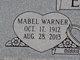Mabel <I>Warner</I> Eby