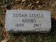 Susan <I>Steele</I> Adams