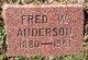 Profile photo:  Fred W. Anderson