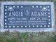 Profile photo:  Angie Adams
