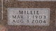 "Amelia ""Millie"" <I>Beier</I> Rupp"