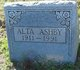 Profile photo:  Alta Ashby