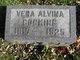 Vera Alvina Cocking