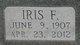 Iris Fontelle <I>Williams</I> Hesser