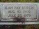 Ilah Fay Burch