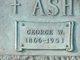 Profile photo:  George Washington Ashcraft