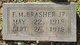 F. M. Brasher Jr.