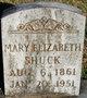 Mary Elizabeth <I>Banta</I> Shuck