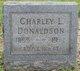 "Profile photo:  Charles L ""Charley"" Donaldson"