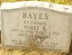 Profile photo:  Harry H Bayes