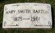 Mary <I>Smith</I> Barton