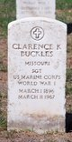 Profile photo:  Clarence Buckles