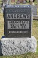 Profile photo:  Artimissa Jane <I>Law</I> Andrews