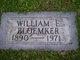 Profile photo:  William E Bloemaker