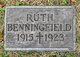 Profile photo:  Ruth Celestine Benningfield