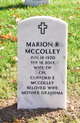 Marion R McColley