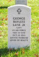 Profile photo:  George Bayless Lane, Jr
