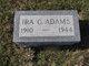 Ira C Adams