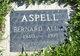 Profile photo:  Bernard Allan Aspell