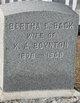 Profile photo:  Bertha E. <I>Back</I> Boynton