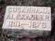Susanna D Alexander
