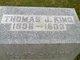 Thomas J. King
