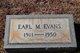 Earl Marvin Evans