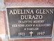 Profile photo:  Adelina <I>Glenn</I> Durazo