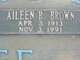 Profile photo:  Aileen <I>Royal</I> Brown