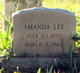 Profile photo:  Amanda Lee