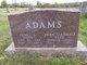 """Profile photo:  Jesse A. """"Pete"""" Adams"""