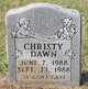 Profile photo:  Christy Dawn Going